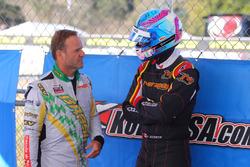 Rubens Barrichello and Robert Wickens