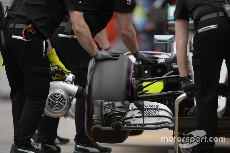 Mercedes AMG F1, повітряний нагнітач