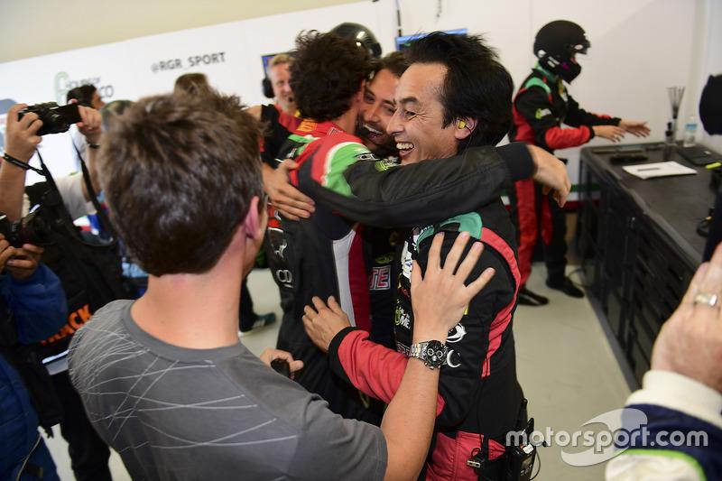 LMP2 pole: #43 RGR Sport by Morand Ligier JSP2 - Nissan: Ricardo Gonzalez, Filipe Albuquerque, Bruno Senna