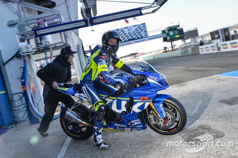 #1 Suzuki Endurance Racing Team, SERT: Anthony Delhalle