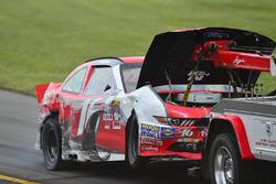 Das Auto von Ryan Reed, Roush Fenway Racing, Ford, nach Crash