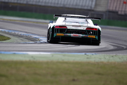 #28 Montaplast by Land-Motorsport, Audi R8 LMS:Christopher Haase, Stéphane Ortelli.