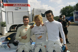 Simone Cunati, Vincenzo Sospiri Racing; Marino Sato, Vincenzo Sospiri Racing; Jaden Conwright, Vince