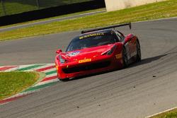 #154 Motor Service Ferrari Ferrari 458: Michael Luzich