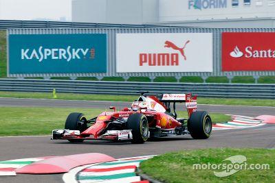 Test: Leclerc bei Ferrari