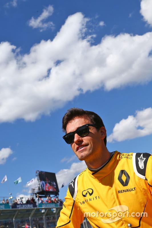Jolyon Palmer, Renault Sport F1 Team op de rijdersparade