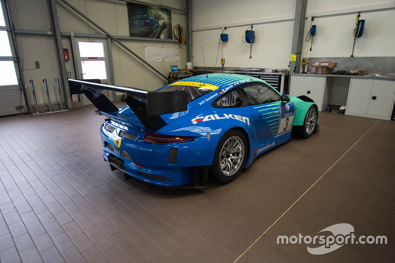 Falken Porsche 911 GT3R unveil