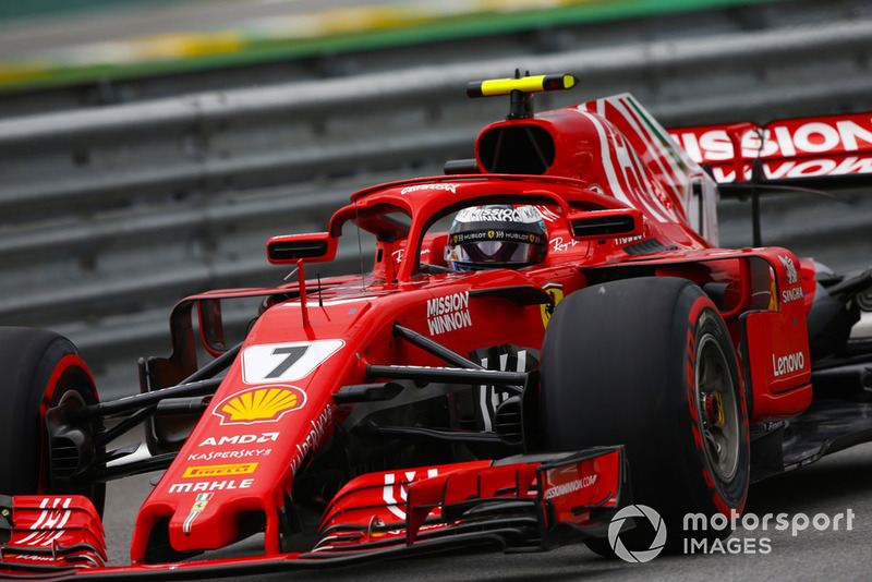 2º Ferrari con Kimi Raikkonen: 2,31 segundos