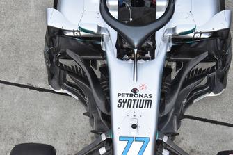 La Mercedes-AMG F1 W09 de Valtteri Bottas