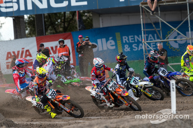 Tony Cairoli y Glenn Coldenhoff, Red Bull KTM Factory Racing