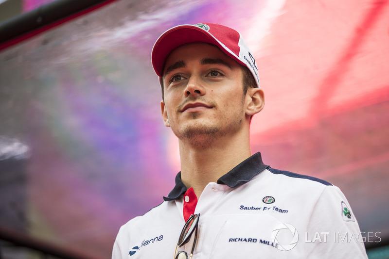 Os bons desempenhos aproximaram Leclerc da Ferrari, sendo que seu nome ganhou força para uma transferência para 2019.