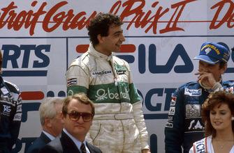 1. Michele Alboreto, Tyrrell, 3. John Watson, McLaren