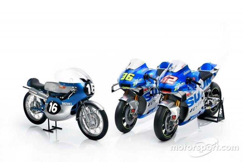 Team Suzuki MotoGP launch