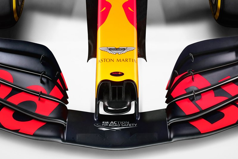 Red Bull Racing RB16 nose detail