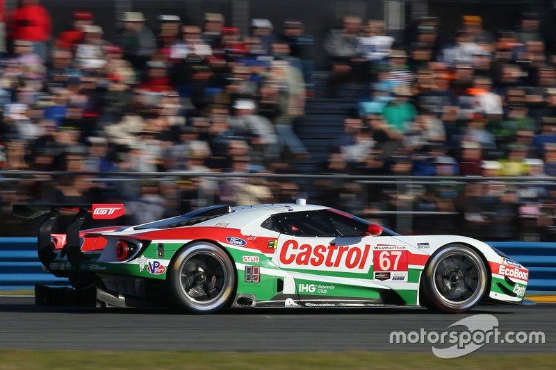 18. GTLM: Райан Бриско, Ричард Уэстбрук, Скотт Диксон, Chip Ganassi Racing, Ford GT (№67)
