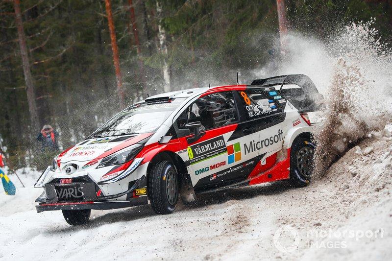 Отт Тянак, Мартін Ярвеоя, Toyota Gazoo Racing, Toyota Yaris WRC 2019