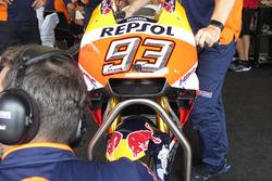 Nuevo carenado Honda HRC, moto Marc Márquez