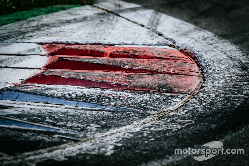 Randstein im Autodromo Nazionale Monza
