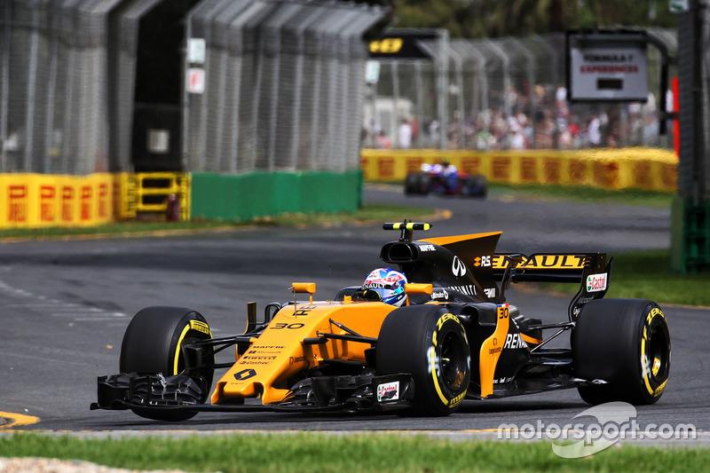19. Джолион Палмер, Renault Sport F1 RS17