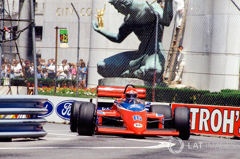 Eddie Cheever, Team Haas/Lola THL2 Ford