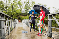 Charles Leclerc, PREMA Racing and Artem Markelov, RUSSIAN TIME