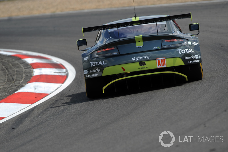 1. LMGTE-Am: #98 Aston Martin Racing, Aston Martin Vantage