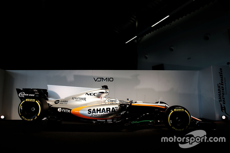 The Sahara Force India F1 VJM10