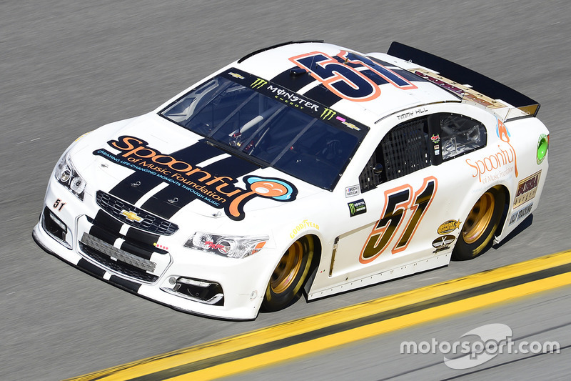 #51: Timmy Hill, Rick Ware Racing, Chevrolet