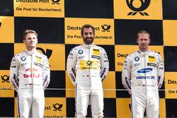 Podium: 1. Timo Glock, BMW Team RMG, BMW M4 DTM, 2. Marco Wittmann, BMW Team RMG, BMW M4 DTM, 3. Maxime Martin, BMW Team RBM, BMW M4 DTM