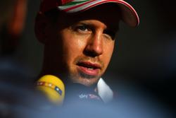 Sebastian Vettel, Ferrari after Q1
