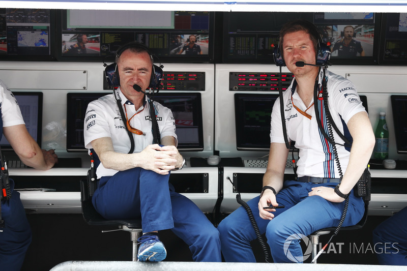 Paddy Lowe, Williams Formula 1, Rob Smedley, Head of Vehicle Performance, Williams