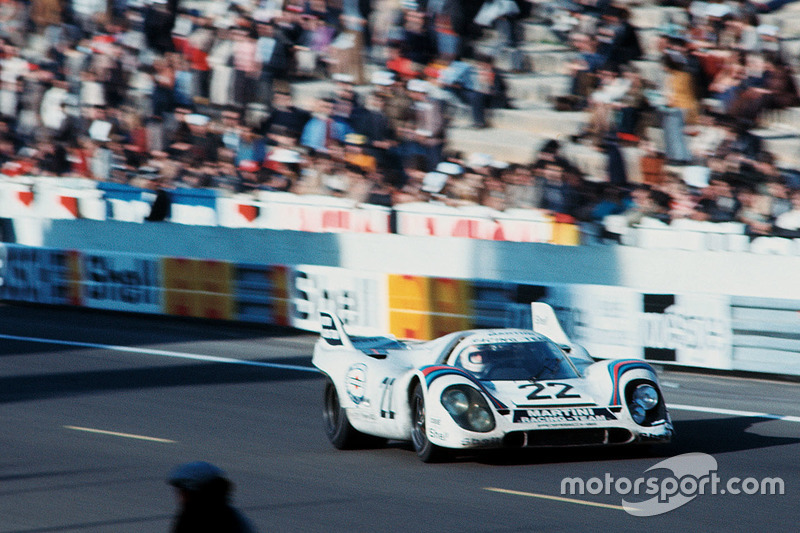 1971 год. Экипаж Porsche 917K Хельмута Марко и Гейса ван Леннепа