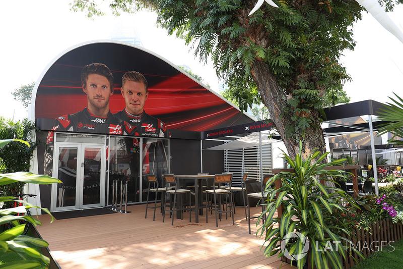 Haas F1 Team: Teamquartier