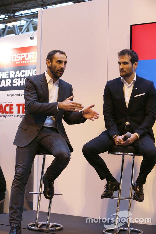 Cyril Abiteboul, Gerente director de Renault Sport F1 Team, Tommaso Volpe, Infiniti Global Director
