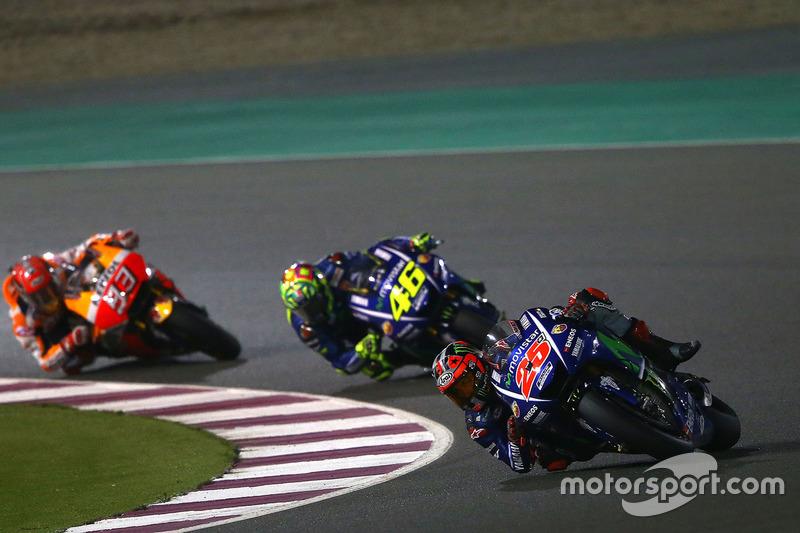 Naik podium dari start ke-10 di Qatar