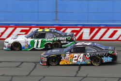 Blake Koch, Kaulig Racing Chevrolet and Corey Lajoie, JGL Racing Toyota