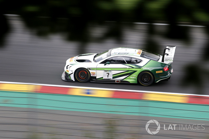 #7 Bentley Team M-Sport Bentley Continental GT3: Steven Kane, Guy Smith, Oliver Jarvis