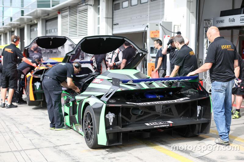 Einstellfahrten, KTM X-Bow GT4, Rowe Racing, Isert Motorsport