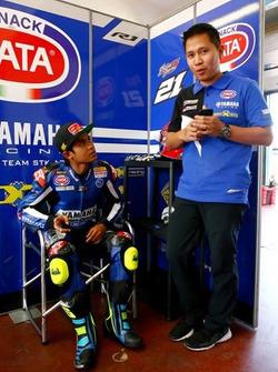WorldSSP300: Galang Hendra, Motoxracing Team dan Manajer Yamaha Racing Indonesia, Wahyu Rusmayadi
