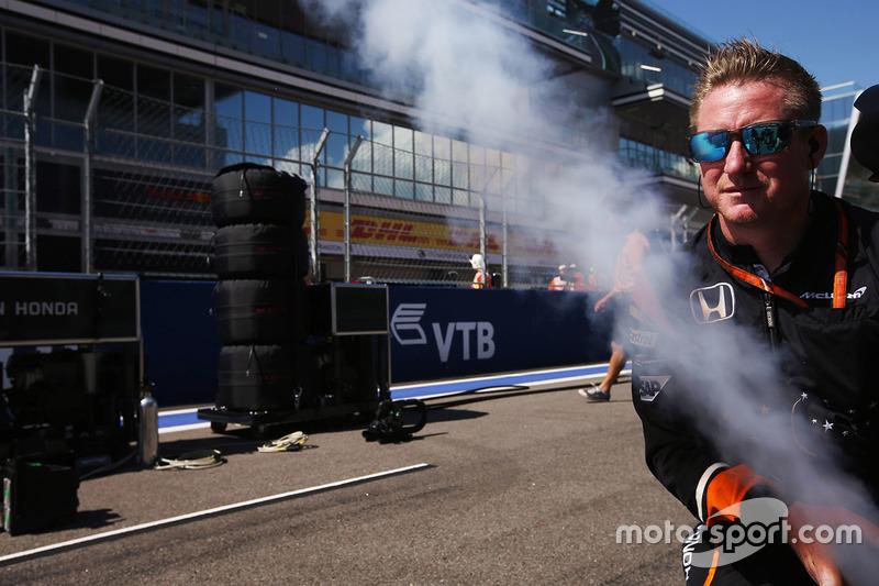 McLaren engineer