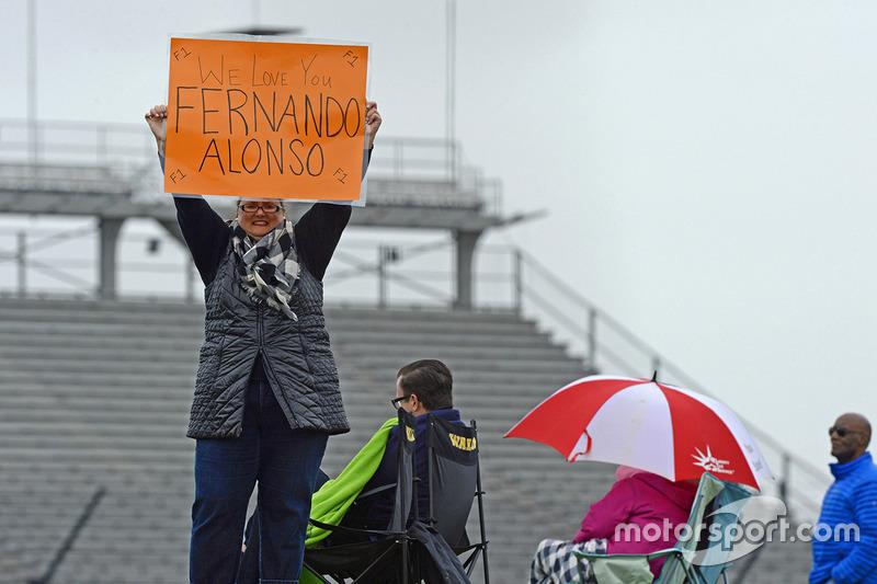 A fan of Fernando Alonso, Andretti Autosport Honda