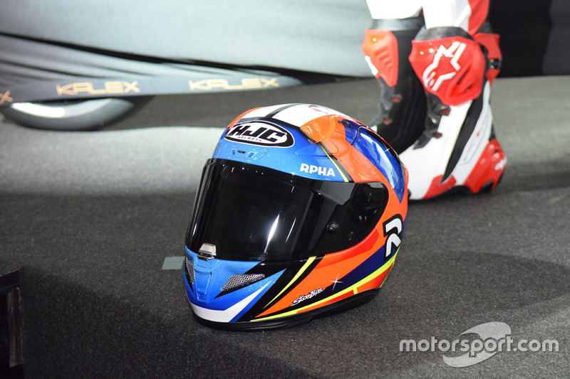 Casco de Jorge Navarro, Federal Oil Gresini Moto2