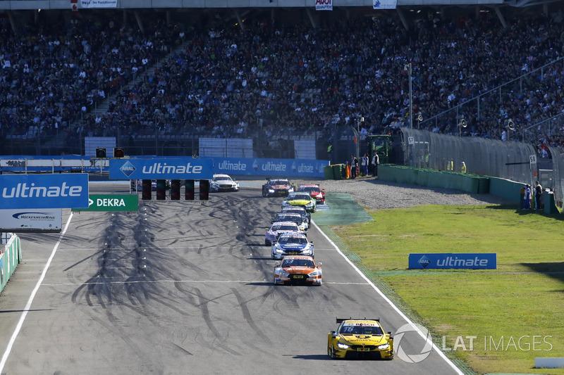 Тімо Глок, BMW Team RMG, BMW M4 DTM, лідирує