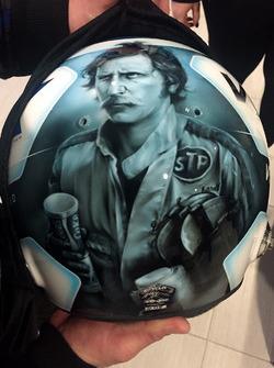 Helmet of Jeffrey Earnhardt, StarCom Racing Chevrolet