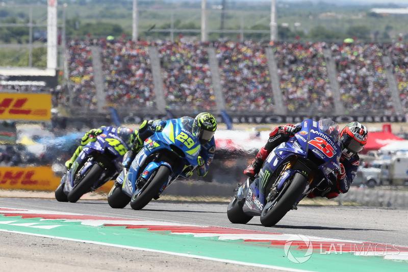 Маверік Віньялес, Yamaha Factory Racing, Андреа Янноне, Team Suzuki MotoGP, Валентино Россі, Yamaha Factory Racing