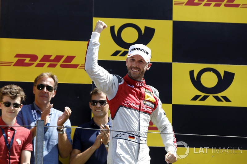 Подіум: Рене Раст, Audi Sport Team Rosberg