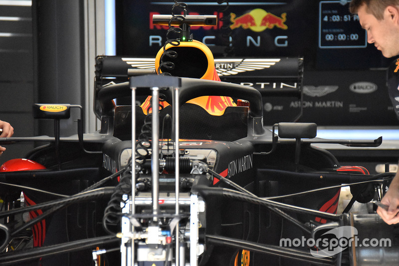 Red Bull Racing RB14 voorwielophanging