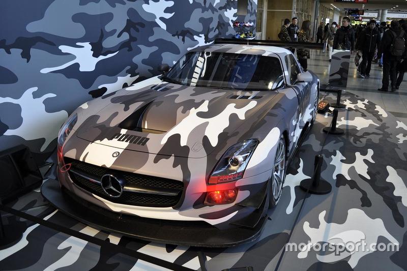 Mercedes SLS GT3 berkelir Puma