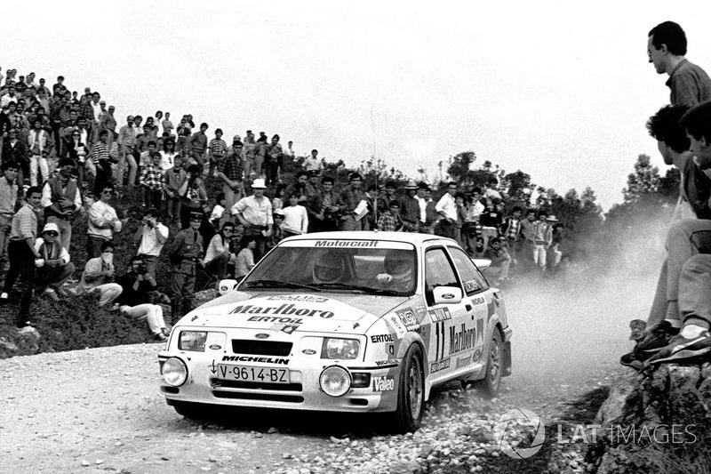 Debut WRC