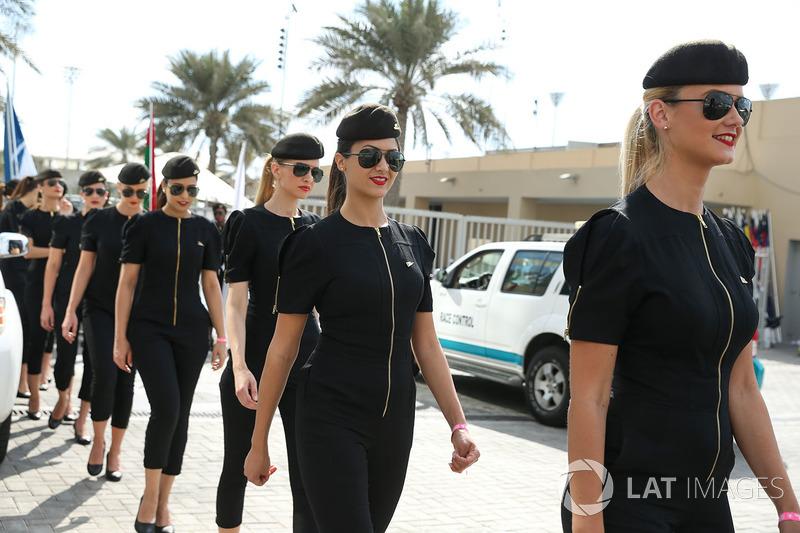 O GP de Abu Dhabi foi, oficialmente, o último GP da F1 com as Grid Girls.